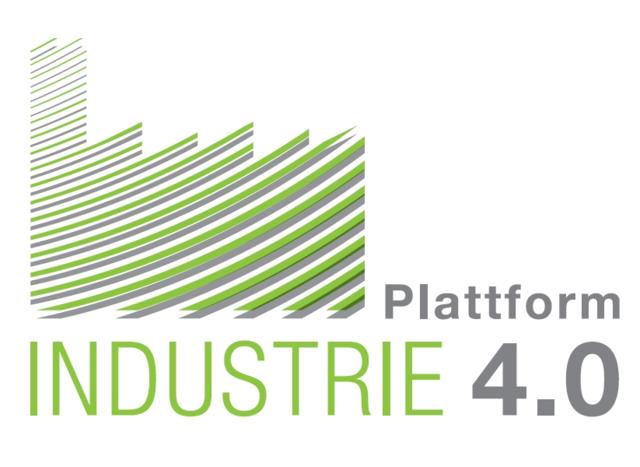 Logo der Plattform Industrie 4.0