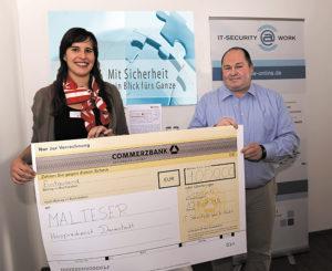 Spenden statt Geschenke zum ISW Firmenjubiläum